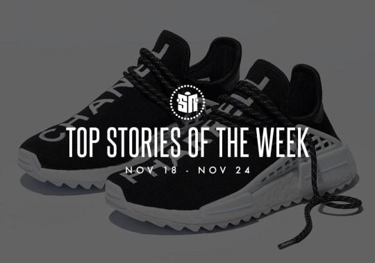 Top Stories Of The Week: November 17-24