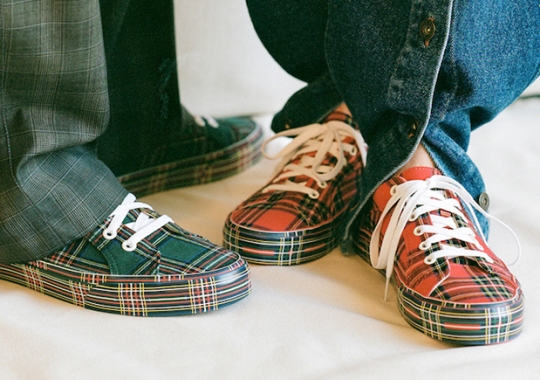 Opening Ceremony Brings Holiday Plaids To The Vans Lampin