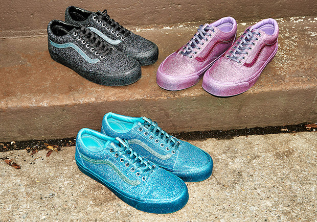 vans glitter shoes opening ceremony