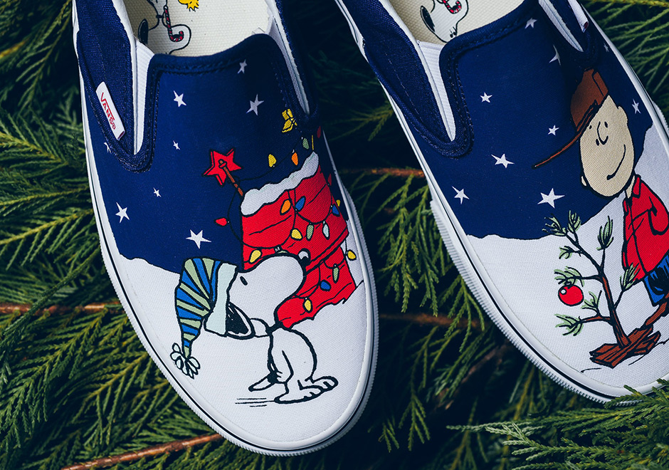 Peanuts And Vans Collaborate Once More