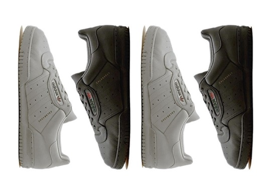 adidas Yeezy Powerphase Releasing In December In Grey And Black