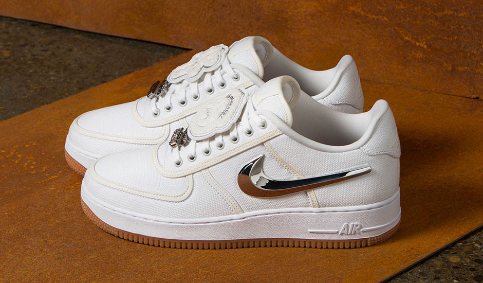 sale retailer 3c872 60818 The Houston-based rapper's first foray with Nike came in the form of an Air  Force 1 Low as part of the brand's AF100 campaign.