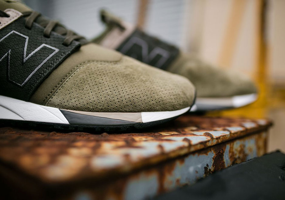 new balance 247 luxe green
