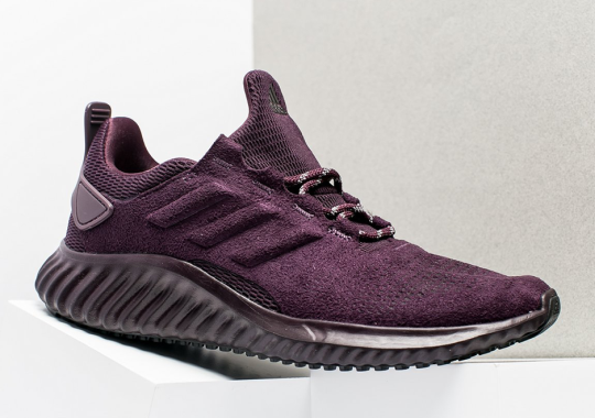 adidas Releases An AlphaBounce With Suede Uppers