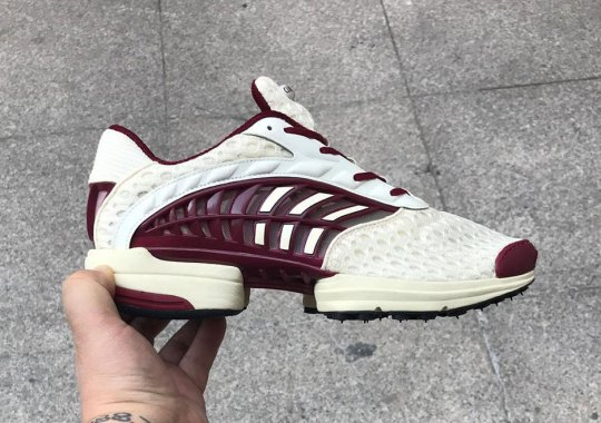 The adidas ClimaCool 2018 Previewed In White And Maroon
