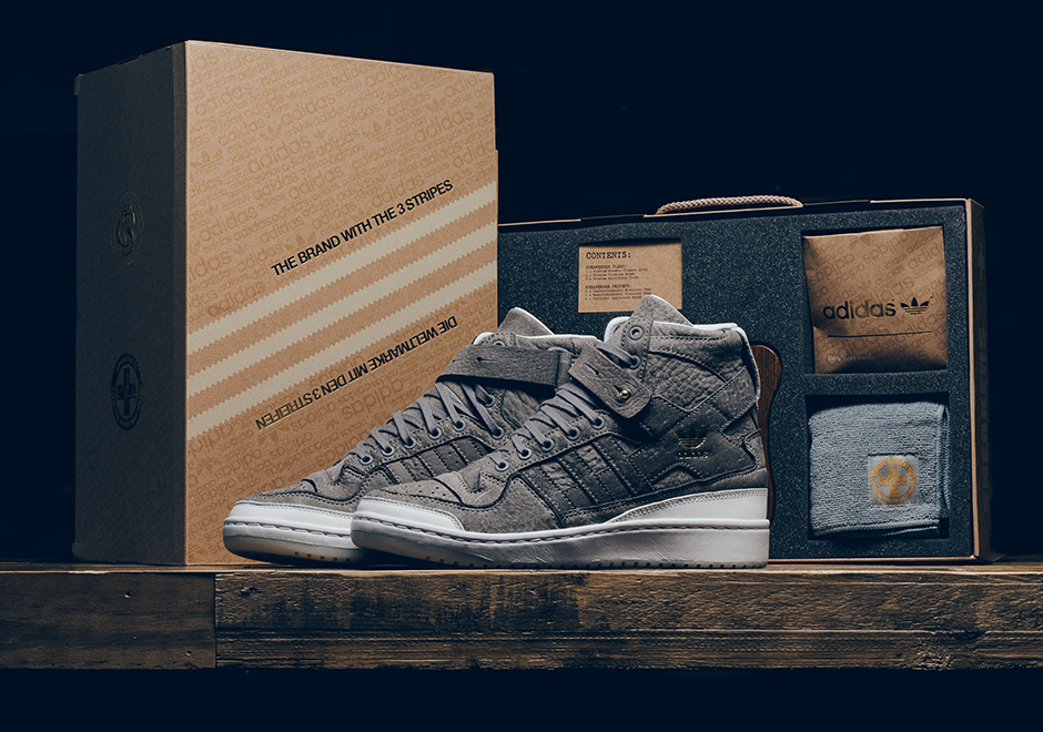 """newest collection cfbdd 63515 adidas Forum Hi. The adidas """"Crafted"""" Pack Brings High End Touches To Three  Classic Models"""