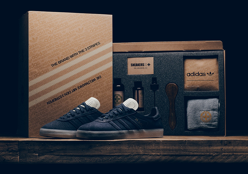 """1a4c6647692b adidas Gazelle """"Crafted""""  250. Color  Navy White Gold Style Code  BW1250"""