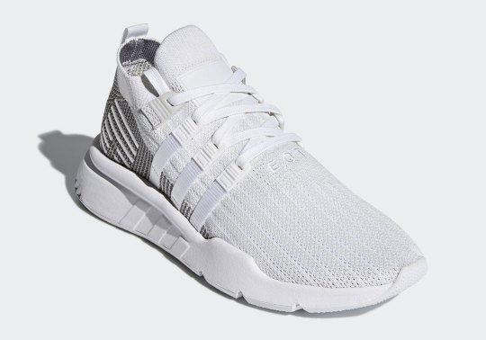 First Look At The adidas EQT Support ADV Mid In White And Grey