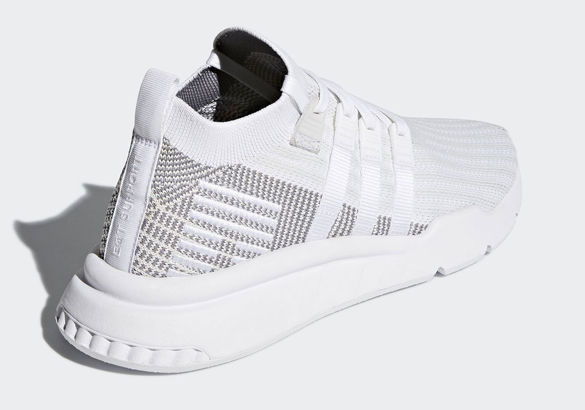 sports shoes 35963 15af4 First Look At The adidas EQT Support ADV Mid In White And ...