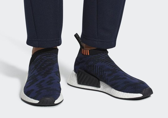 adidas NMD CS2 Returns In Navy/Black Pattern