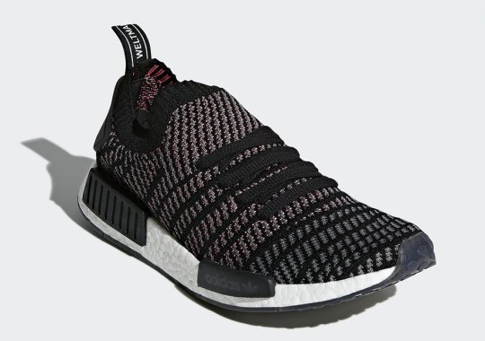 "adidas NMD R1 Primeknit STLT ""Core Black"" Releasing In January 2018"