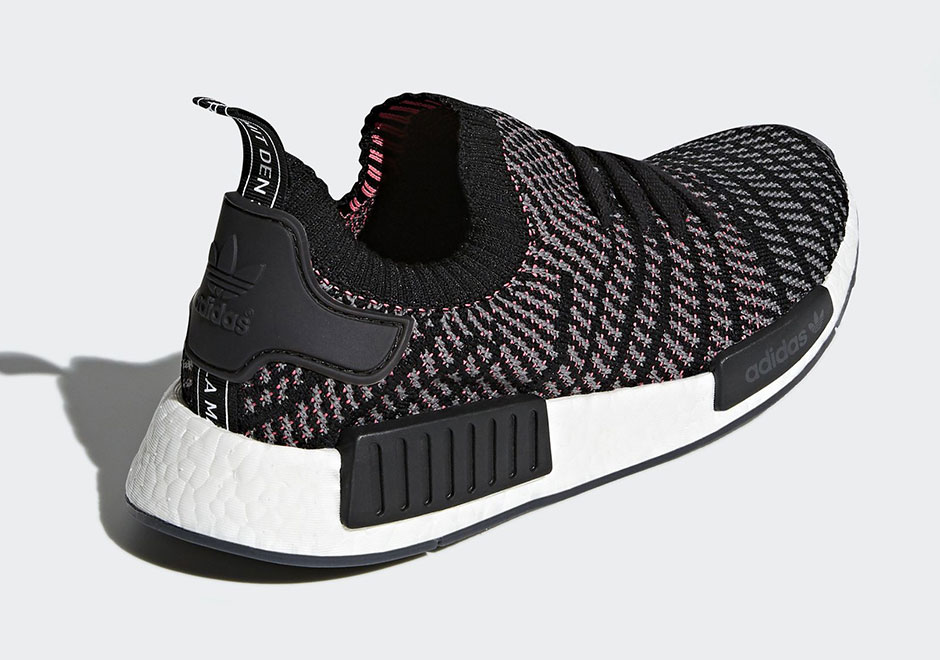 Adidas Nmd R1 Runner BLACK WHITE Unisex Trainers All Sizes