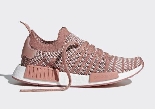 "adidas NMD R1 Primeknit STLT ""Ash Pink"" Coming In January"