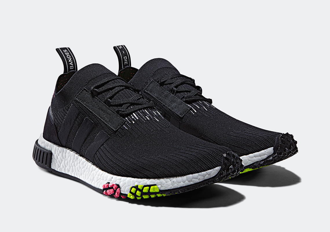 "super popular 2c733 8edb8 adidas NMD Racer PK ""Core Black"" AVAILABLE NOW AT sneakAvenue"