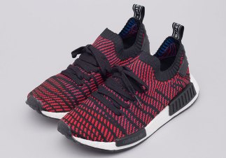 adidas NMD R1 STLT In Core Red Is Available Now