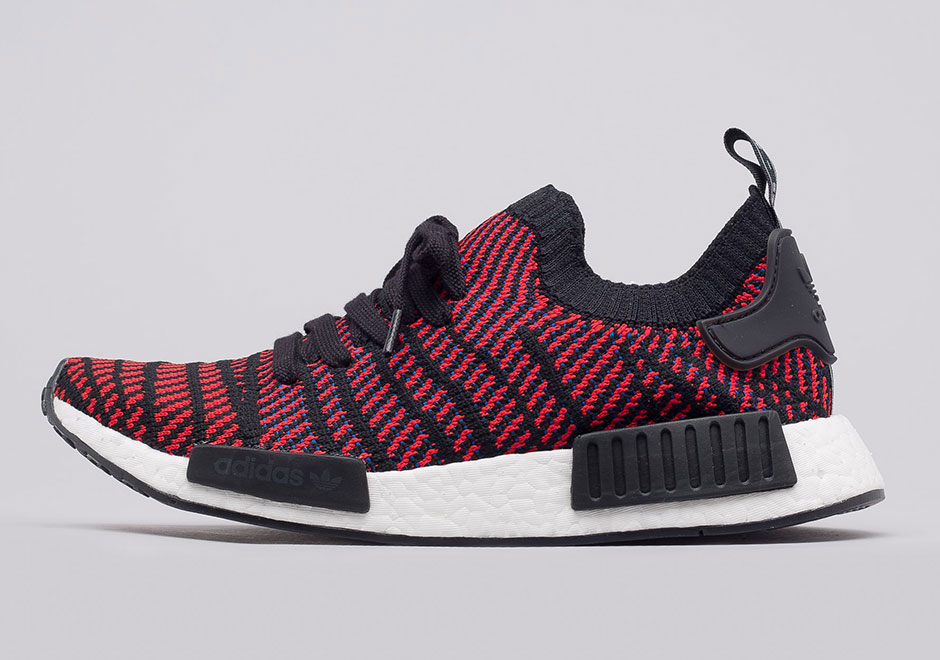 buy popular 7c9ec 703fa adidas NMD R1 STLT Core Red Available Now | SneakerNewds.com