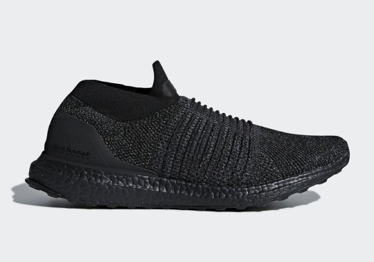 "adidas Ultra BOOST Laceless ""Triple Black"" Coming In January"