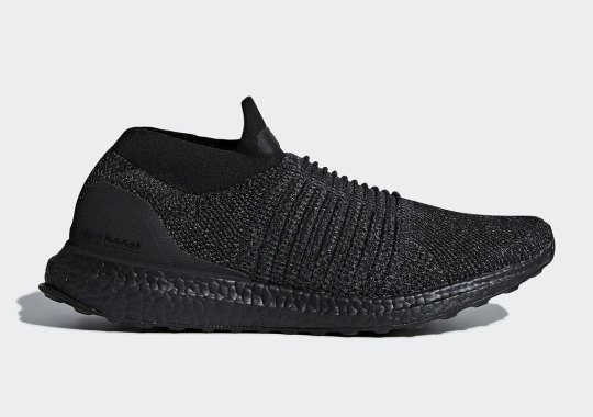 """adidas Ultra BOOST Laceless """"Triple Black"""" Coming In January"""