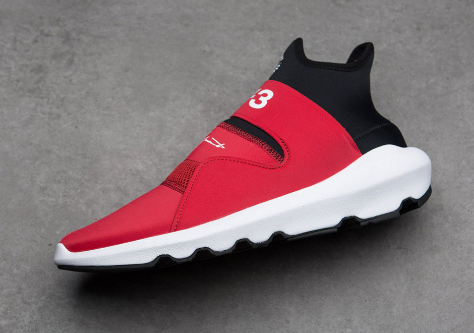 6f8a2d623078 adidas Y-3 Suberou AVAILABLE AT Sneakersnstuff  350. Color  Chili  Pepper Core White Core Black