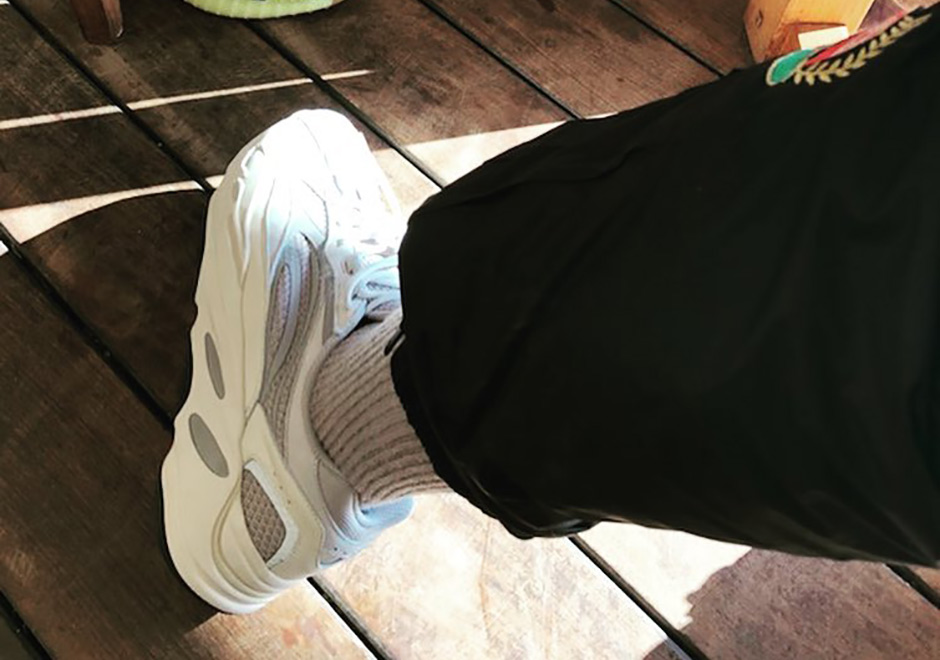 Kanye West Sports Revised Version Of The adidas Yeezy Boost 700 Wave Runner