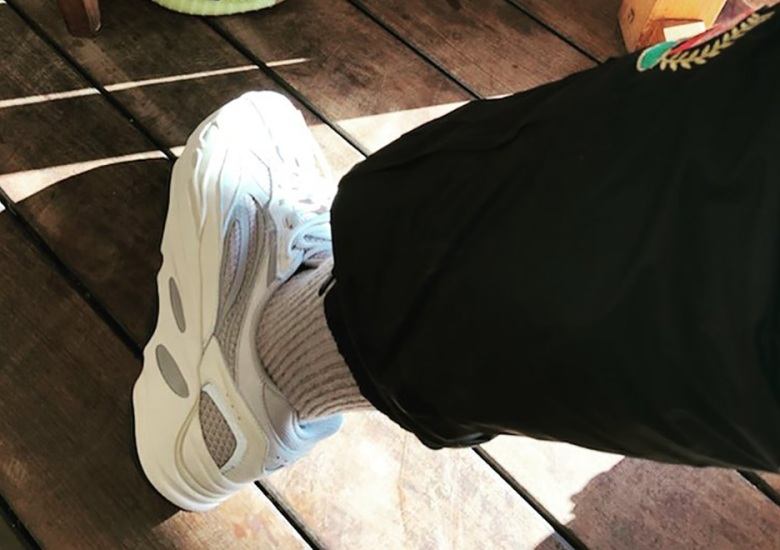 dc5f3a7f18e Kanye West Sports Revised Version Of The adidas Yeezy Boost 700 Wave Runner