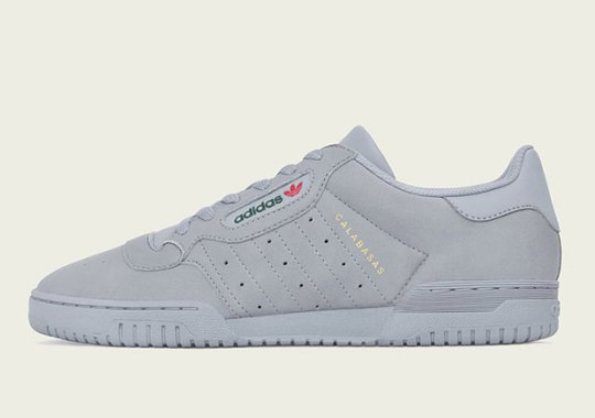 adidas Yeezy Powerphase In Grey Releases On December 9th