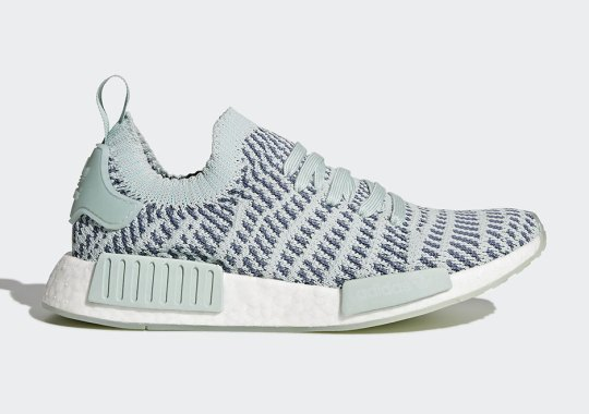 The Brand New adidas NMD R1 Primeknit Style Is Releasing In Ash Green