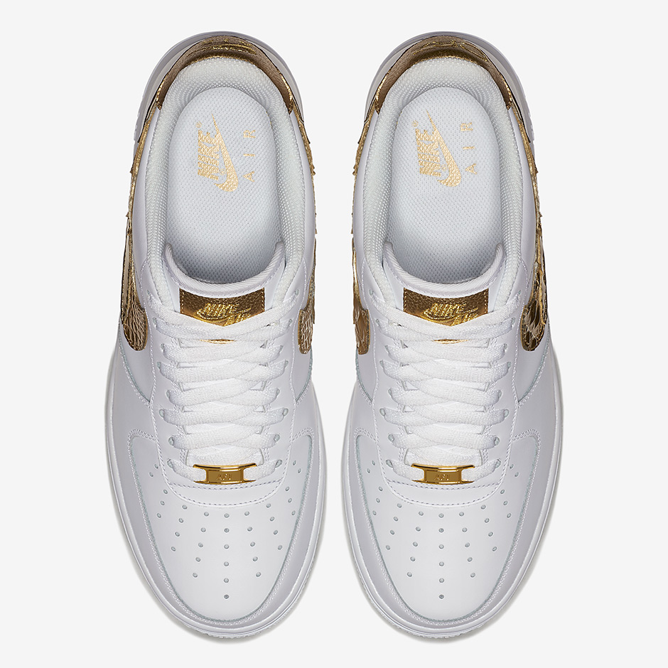 Nike Air Force 1 CR7 Golden Patch AQ0666 100