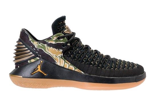Camo Prints Appear On The Air Jordan XXXII Low
