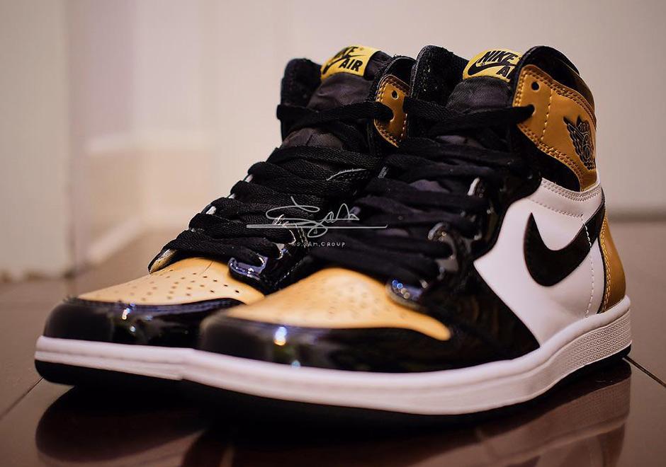 black and gold jordans shoes