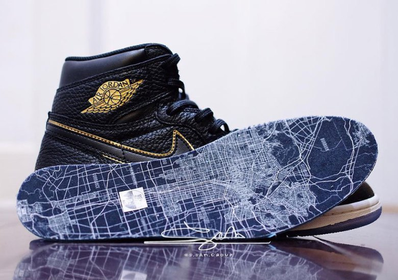 "best loved 048e2 dd55c Detailed Look At The Air Jordan 1 Retro High OG ""All-Star"" For Los Angeles"