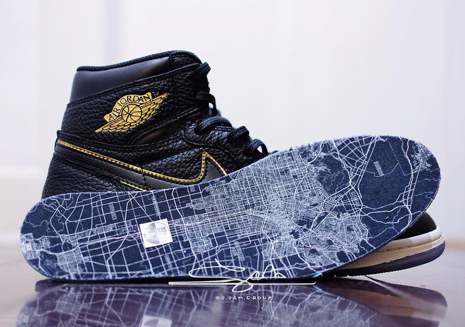 """92f4cd2ebe97 Detailed Look At The Air Jordan 1 Retro High OG """"All-Star"""" For Los Angeles"""