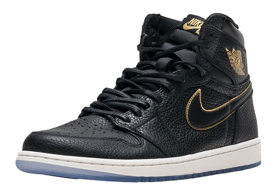 Air Jordan 1 Retro High OG In Black And Gold Releasing On January 10th