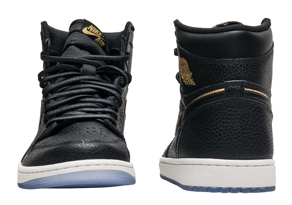 the latest 59b71 d521b Air Jordan 1 Retro High OG Release Date  January 10th, 2018  160. Color   Black Metallic Gold-Summit White Style Code  555088-031. Advertisement