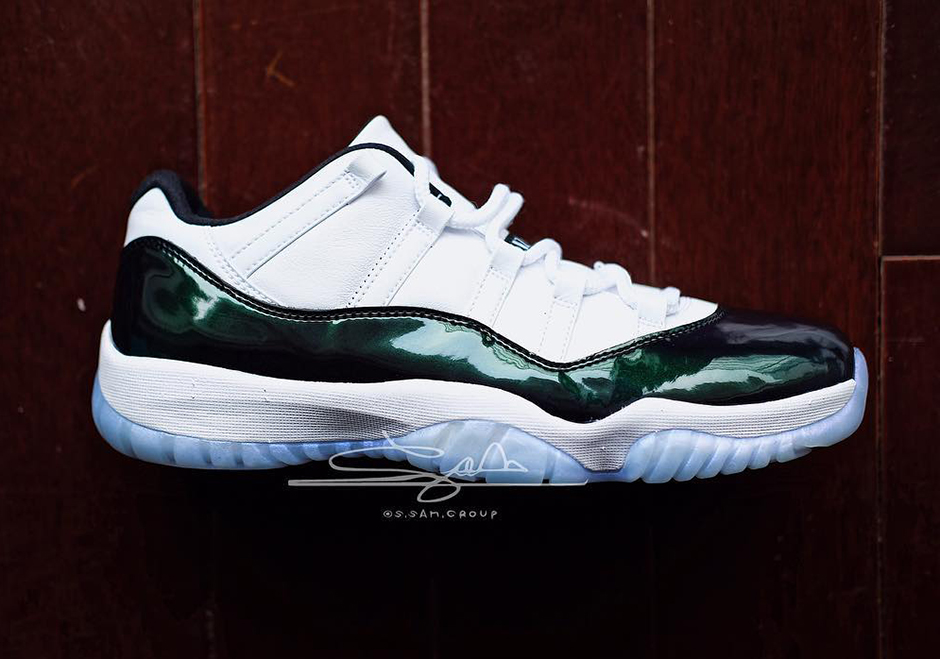 Jordan Brand has plans to release a seasonally appropriate Air Jordan 11  Low offering next Spring, just in time for Easter Sunday.