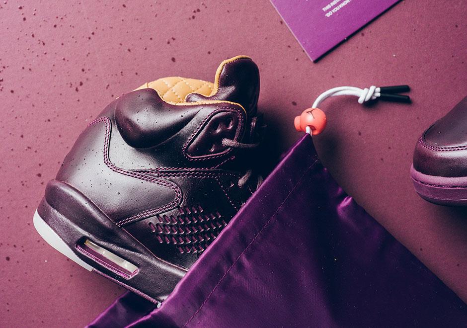77fde49940d Air Jordan 5 Premium Bordeaux Release Date + Photos