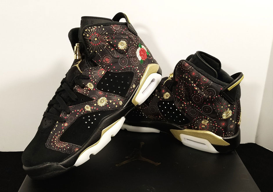 99f5fb6e6496 Air Jordan 6 Chinese New Year Release Date  January 2018. Color  Gym  Red White-Black