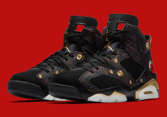 "Air Jordan 6 ""Chinese New Year"" Releasing In Adult And Kids Sizes"