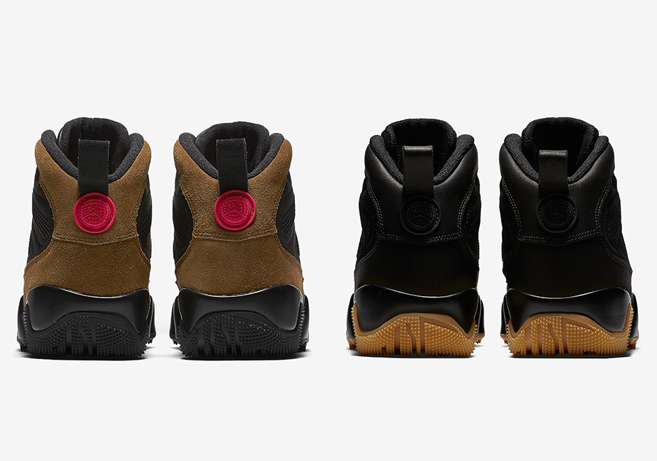 6fbe748a5d2c0d Air Jordan 9 NRG Boot Olive and Black Gum Release Date + Photos ...