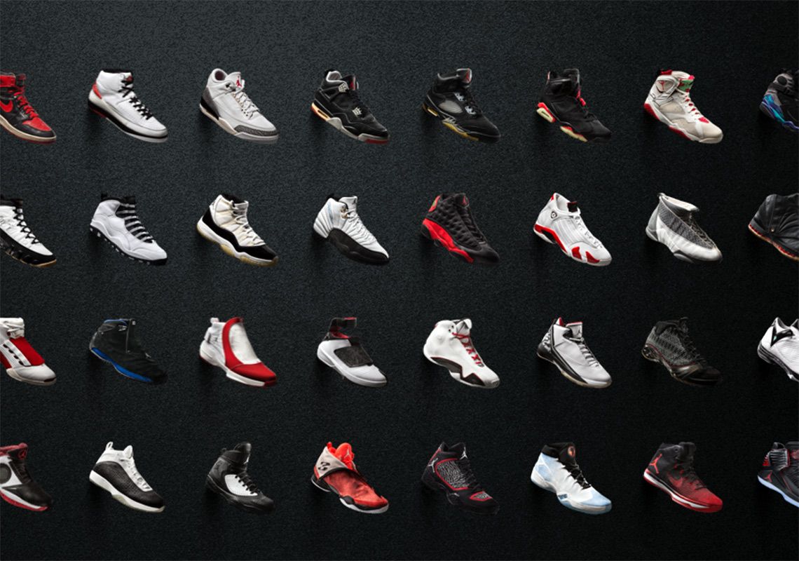 all jordan shoes ever made in order