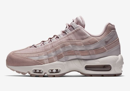 """Nike Air Max 95 Deluxe """"Particle Rose"""" Coming Soon"""