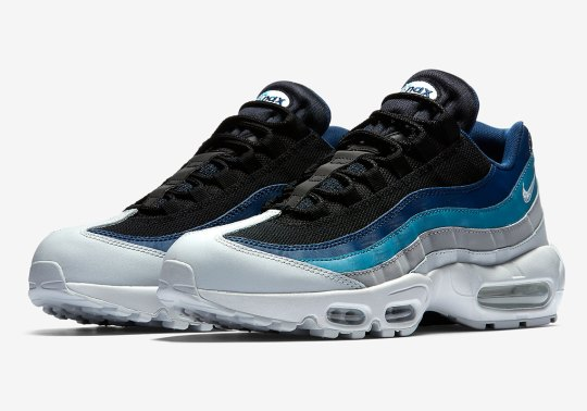"""The Nike Air Max 95 Appears In A """"Reverse Stash"""" Colorway"""