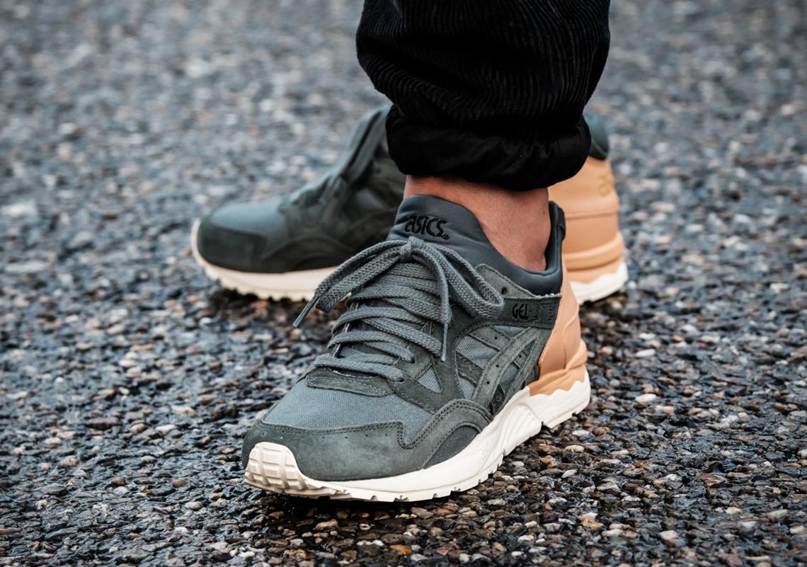 Perca Falsedad seguro  ASICS GEL-Lyte V Tan Leather Green Suede | SneakerNews.com