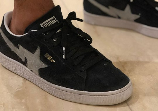 Unreleased BAPE x Puma Clyde Surfaces Overseas