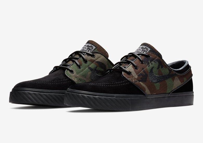 Camo Prints Return To The Nike SB Stefan Janoski 4ba3012cf