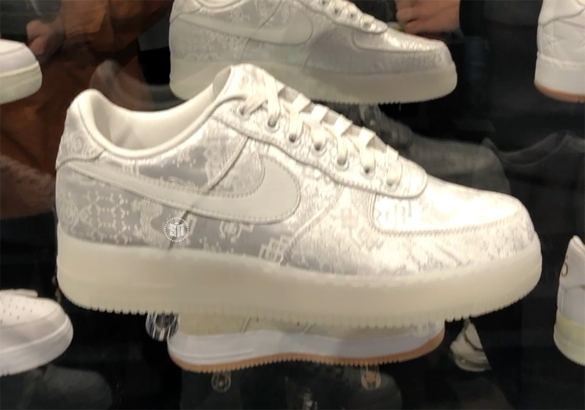 CLOT Nike Air Force 1 1WORLD AO9286 100 Release Date