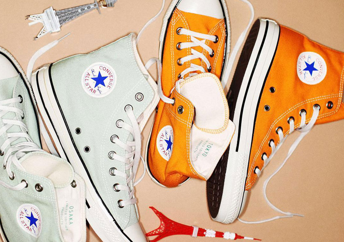 Converse Japan Honors Osaka And Tokyo With Two Colorful Chuck Taylors