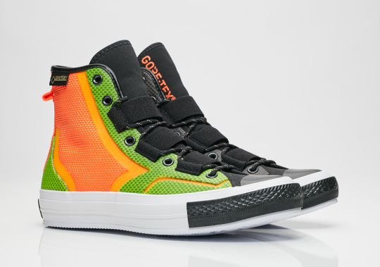 Converse Expands Urban Utility Line With Three Gore-Tex Options