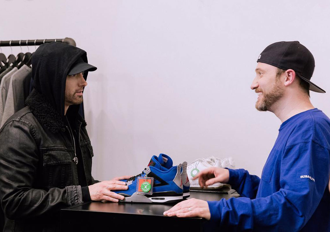 "Eminem May Have Confirmed The Re-release Of The Air Jordan 4 ""Encore"""