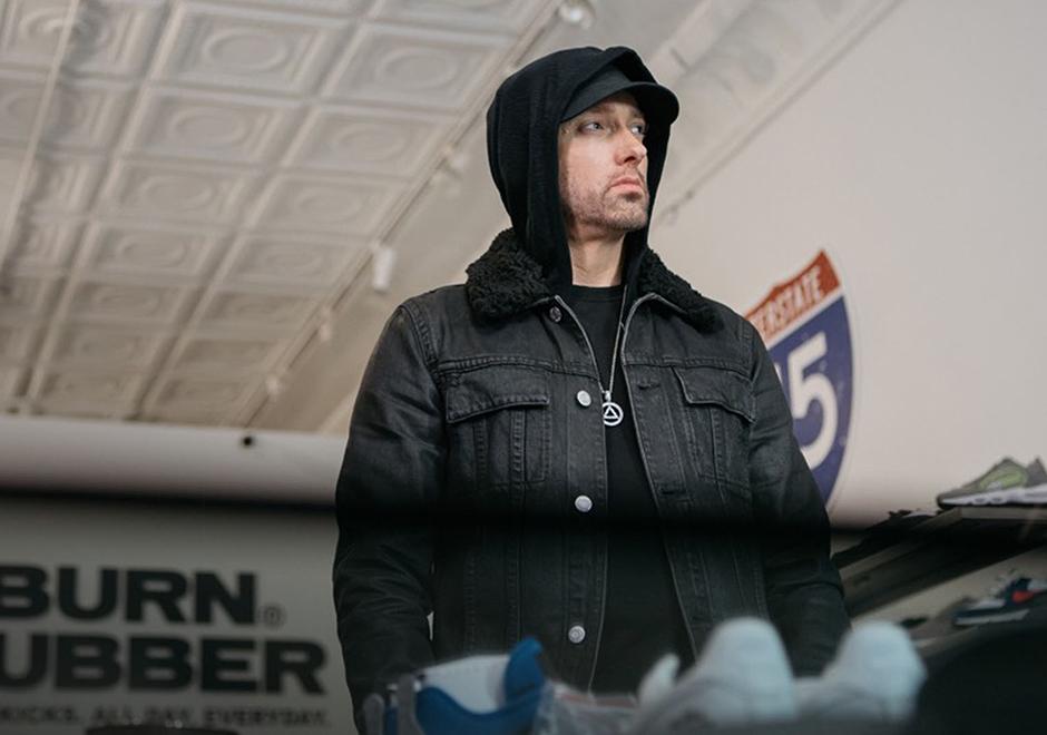Eminem Says Michael Jordan Got The First Pair Of His Air Jordan 4 Re-release